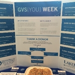 GVS(You) Week tables were set up around campus during the week